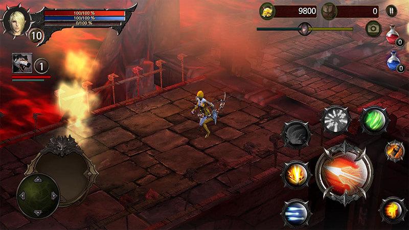 Blood Warrior - Hệ thống nhập vai luyện cấp đẳng cấp