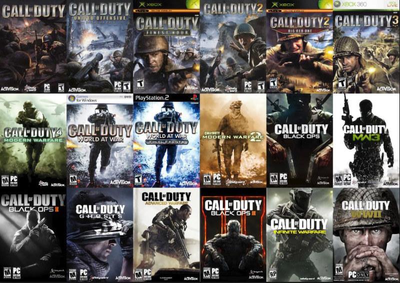 Các Phiên Bản Call Of Duty Full Series Cho Người Chơi Yêu Thích Game Bắn Súng