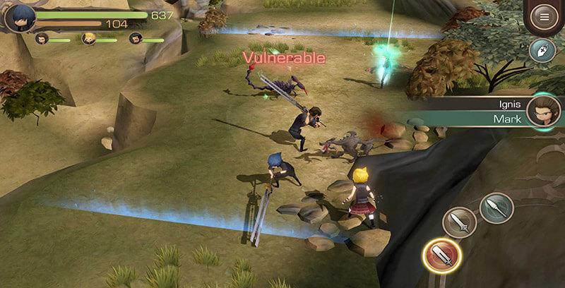 Final Fantasy XV Pocket Edition - Trải nghiệm phong cách chơi game casual trên nền tảng di động