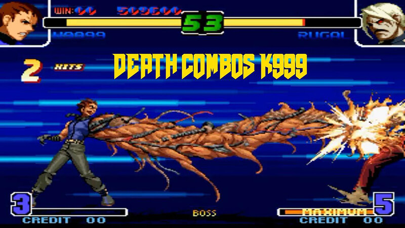 giao dien king of fighter
