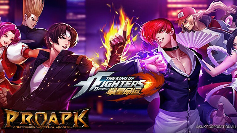 king of fighter android