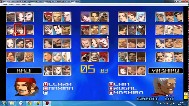 king of fighter